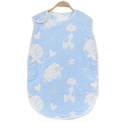 lucear bebé saco de dormir y # xFF0 C; 100% algodón muselina Saco de