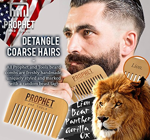 must have prophet and tools beard oil and beard comb kit unscented all in on. Black Bedroom Furniture Sets. Home Design Ideas