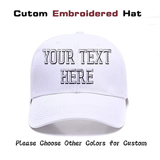 pretty nice 64ca2 a563f Custom Embroidered Adjustable Baseball Cap Hat Sports Teams Color Choices  (1)