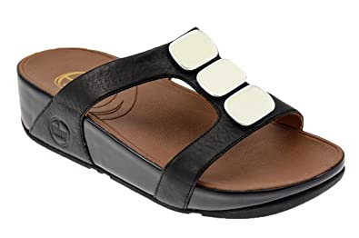 4d8c3b082e599e Image Unavailable. Image not available for. Colour  Fitflop Pietra Due  Slide Ciabatta Fascia Sanda.