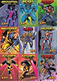 #10: X-MEN 99 CENTS 1997 FLEER COMPLETE BASE CARD SET OF 50 MARVEL