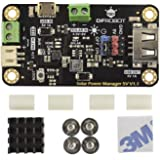DFROBOT 900mA MPPT Solar Panel Controller - Solar Power Manager Module for 5V Solar Panel - Support Solar and USB…