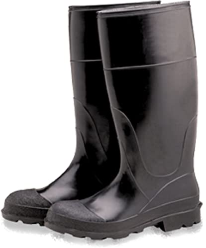 Industrial PVC Rubber Boots Plain Toe 16""