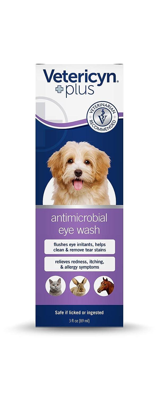 Amazon.com: Vetericyn Plus - Limpiador de ojos para perros ...
