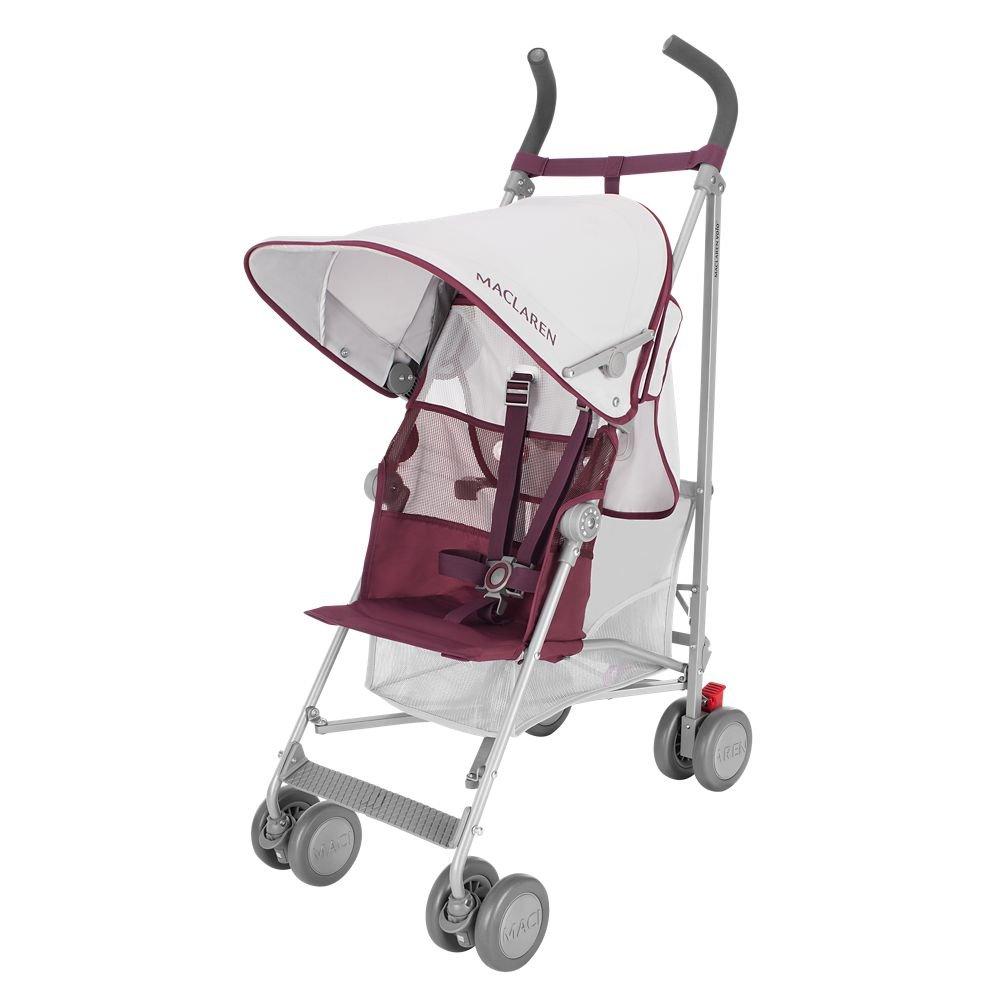Maclaren Volo Stroller, Silver/Black WM1Y010192