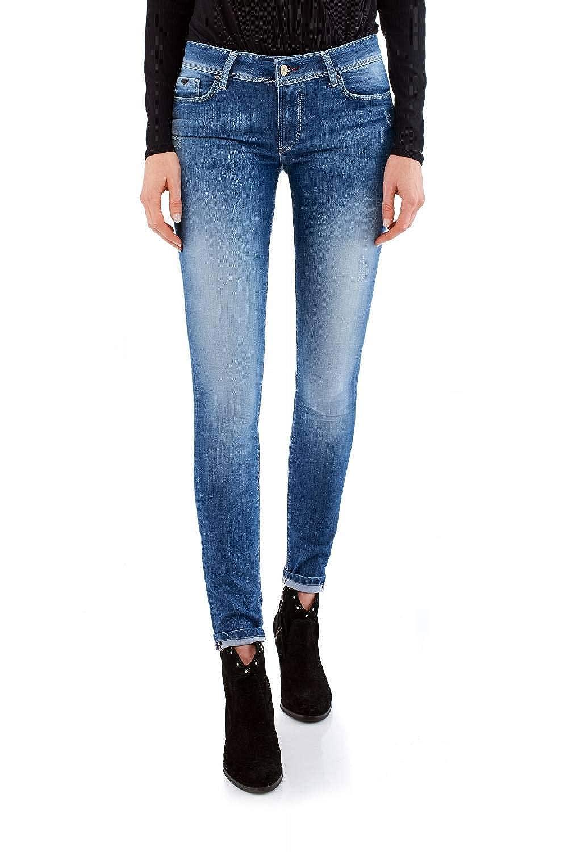 TALLA 38 (Tamaño del fabricante:30). Salsa Jeans Wonder Vaqueros Skinny para Mujer