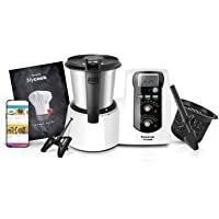 Taurus Mycook Easy - Robot de Cocina, app mycook miles de recetas gratuitas, Multifunción, 1600W, 2L, Inducción hasta…