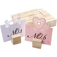 SurePromise 20 paquetes de soportes creativos de madera