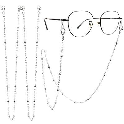 2pcs Beads Eye Glasses Sunglasses Spectacles Chain Cord Lanyard Holder Strap