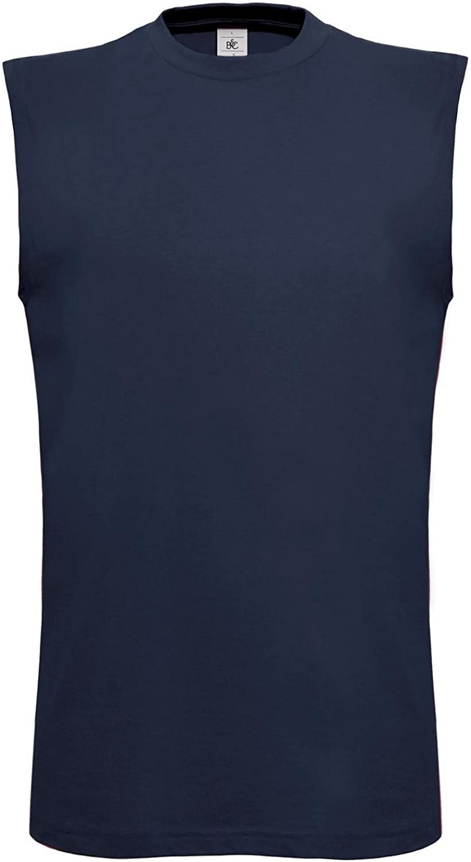 B/&C Mens Exact Move Athletic Sleeveless Sports Vest Top