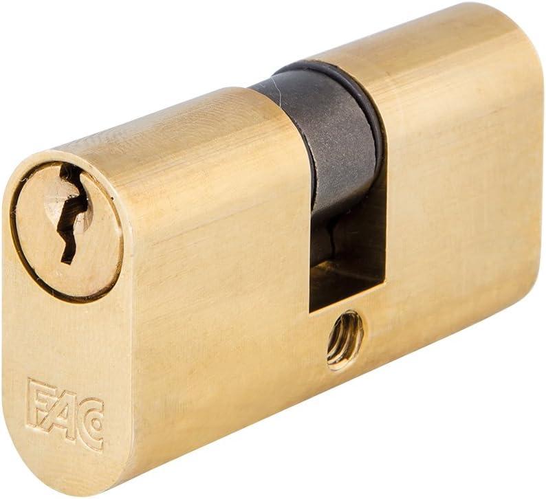 Fac - Cilindro oval 56 mm. f laton 28x28 11 caja: Amazon.es: Bricolaje y herramientas
