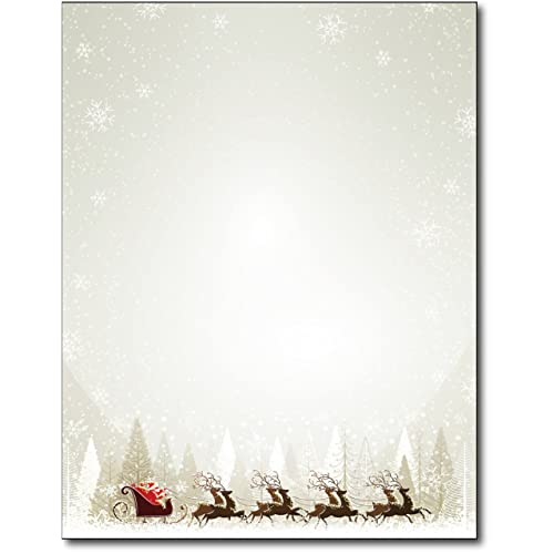christmas stationery paper amazon com