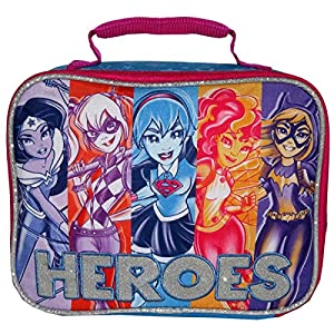 Super Hero Girls Lunch Bag