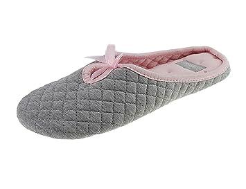 Automne et la couleur des bonbons hiver produits ménagers mignon et chaussures en coton dames chaussures d'intérieur,violet,38