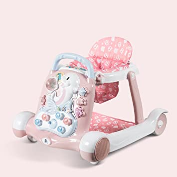 Amazon.com : Baby Walker, Rollover Prevention, Music, 6/7-18 ...