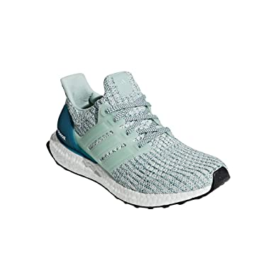 adidas Womens Ultraboost 4.0 Running Shoes, Ash Green (2018