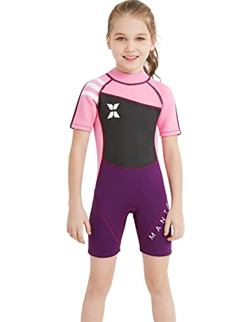 b1dc879095 ... Surfing Snorkel Dive Snorkel Back Zip Suit. 137 · Dark Lightning Kids  Wetsuit, 2mm Neoprene Thermal Swimsuit, Youth Boy's and Girl's One Piece