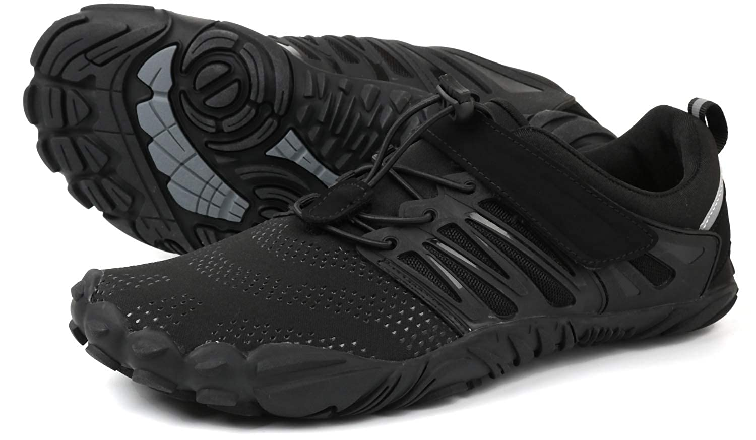 5928d0a39572 WHITIN Men s Wide Toe Minimalist Trail Running Barefoot Shoes   Amazon.co.uk  Shoes   Bags