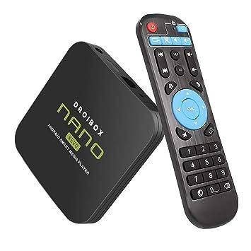 JUSTOP NANO Revo 4K Android 8 1 Oreo TV Box 2GB+16GB Ultra HD Smart TV  Player Quad Core HDMI 2 0 Output Built-in WI-FI Bluetooth 4 1