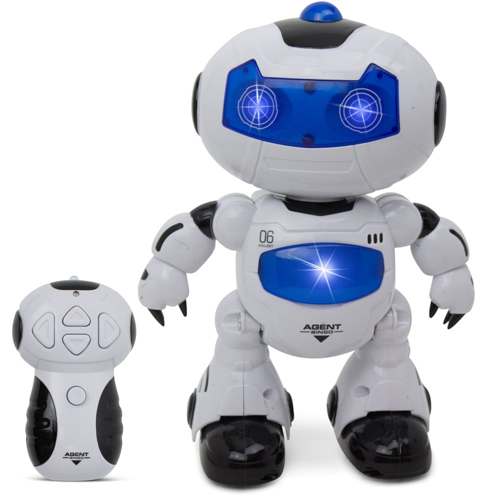 Remote Control Action Dancing Robot - Kids Toys - Sounds and Lights
