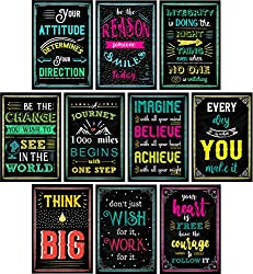 Make motivation, hard work, and learning fun for students and yourself with these colorful chalkboard design motivational posters from L & O Goods!  Learning, doing hard work, and performing at your best can be fun, but having a smart and effecti...