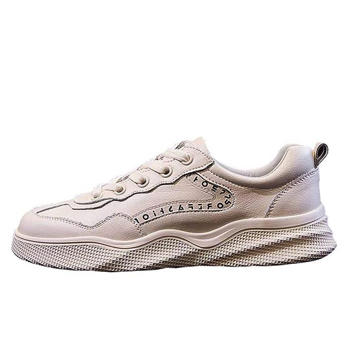Miss Li Calzado Para Caminar Suave Y Cómodo Para Mujer Zapatos Con Cordones Para Damas Pisos Casuales Zapatillas De Deporte: Amazon.es: Ropa y accesorios