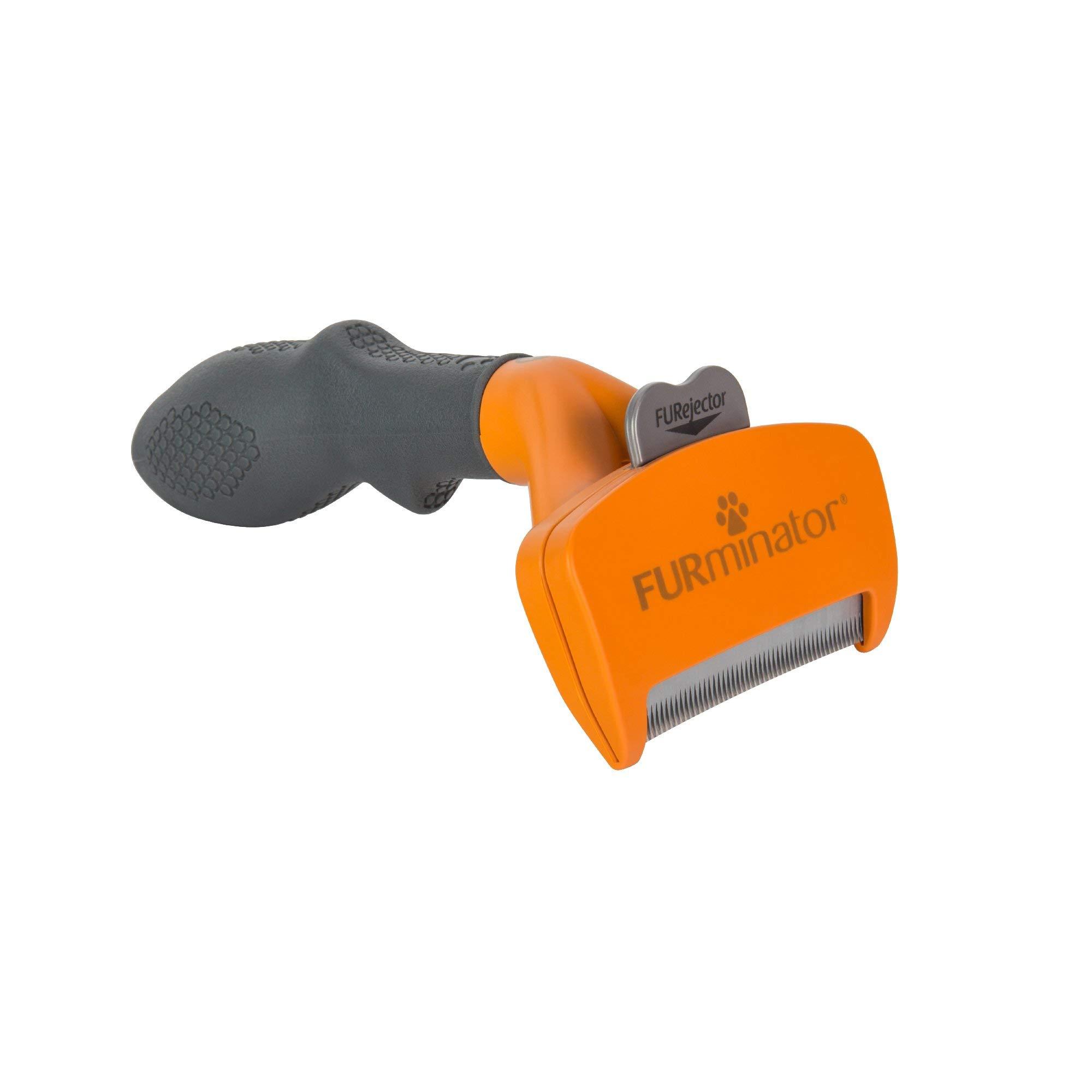 Furminator Short Hair deShedding Tool for Medium Dogs, Standard