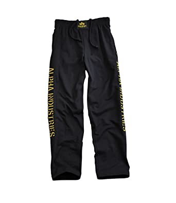 Alpha Industries II Track Pant-Pantalón de chándal, color blanco ...