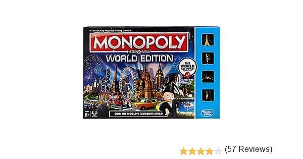 Hasbro Monopoly World Simulación económica - Juego de Tablero (Simulación económica, Niño/niña, 8 año(s)): Amazon.es: Juguetes y juegos