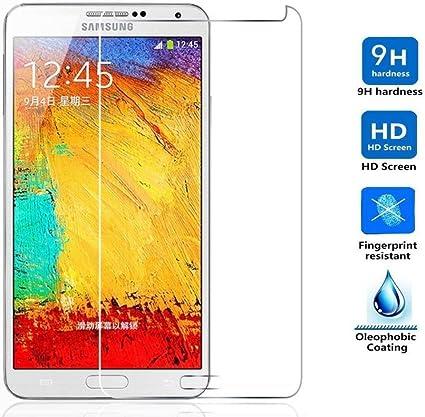 REY Protector de Pantalla para Samsung Galaxy Note 3 Cristal ...