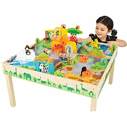 Amazon.com: Imaginarium Zoo Play Table: Toys & Games