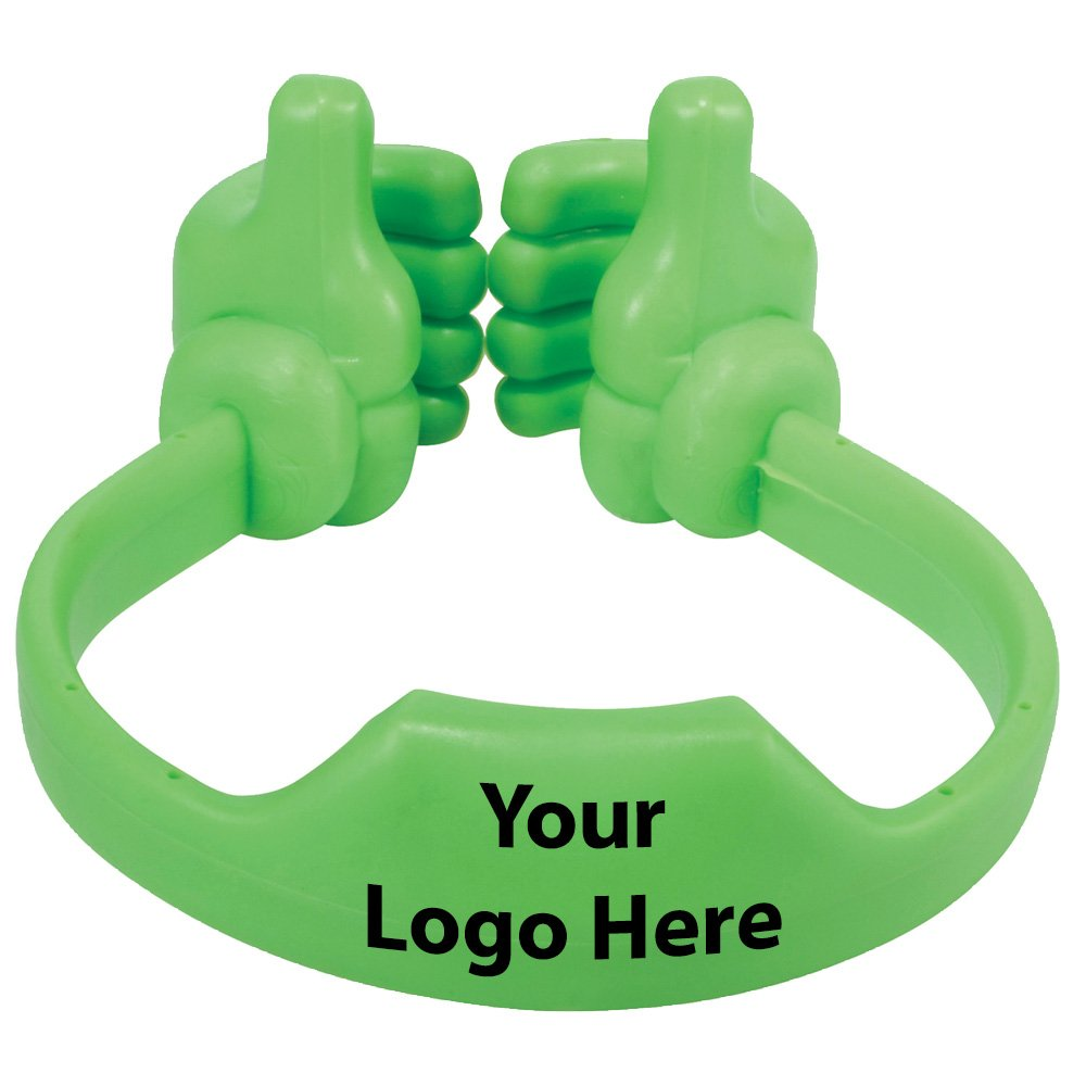 Thumbs Up Media Holder - 150 Quantity - $2.30 Each - PROMOTIONAL PRODUCT / BULK / BRANDED with YOUR LOGO / CUSTOMIZED by Sunrise Identity