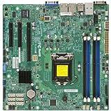 Super Micro Supermicro X10SLH-F-B LGA1150/ Intel C226 PCH/ DDR3/ SATA3&USB3.0/ V&2GbE/ MicroATX Server Motherboard **BULK PACKAGE** OEM
