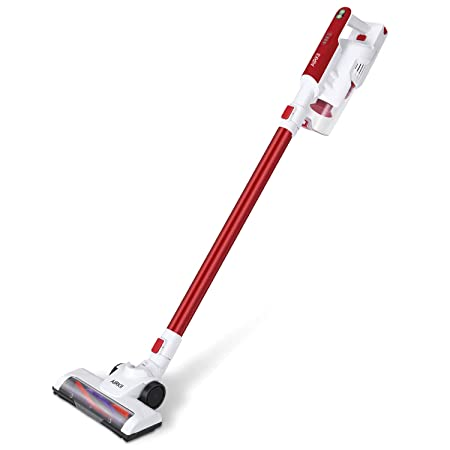 AIRKII Cordless Stick Vacuum Cleaner 7000PA Powerful Lightweight Handheld Vacuum Rechargeable