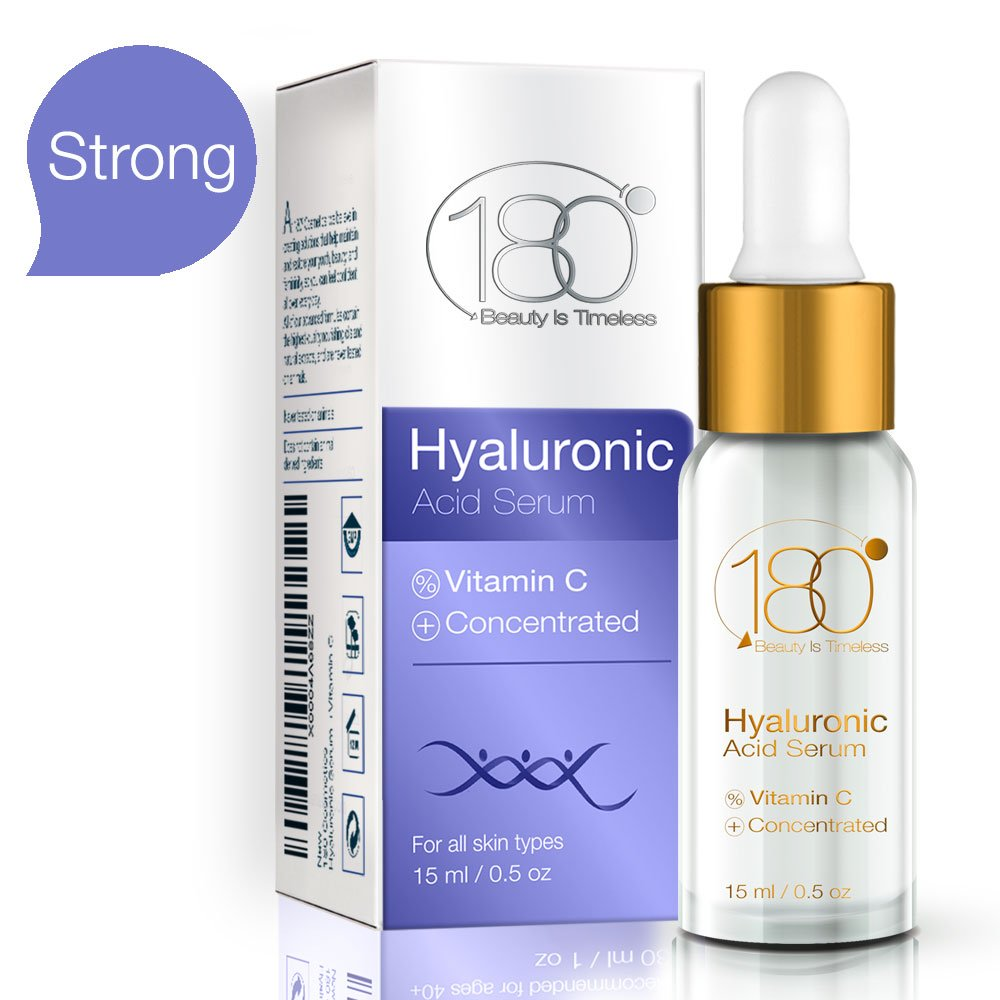 180 Cosmetics Hyaluronic Acid Serum For Face Pure Dove 15ml Immediate Results Lift Skin And Eyes Anti Aging Wrinkle