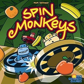 Spin Monkeys - Juego de Tablero, 2 a 8 Jugadores (Toys RGG480 ...