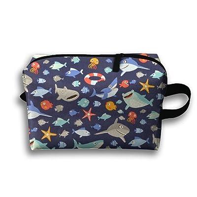 f651ea40847f 60%OFF Unisex Outwork Sports Bag Toiletry Bag Shark Starfish ...