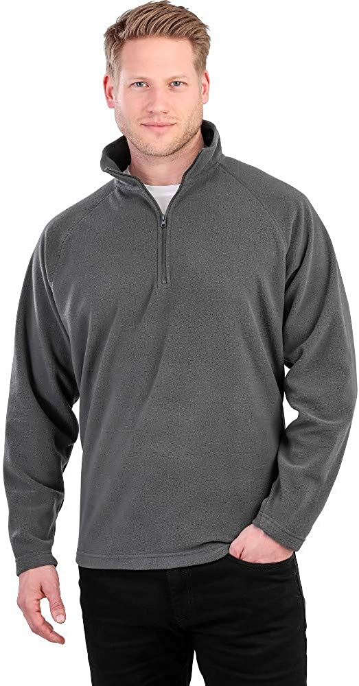 Outdoor Look Mens Athos Breathable Micro Fleece Jacket
