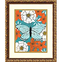 Framed Art Print 'Nectar Collector III' by Kate Birch