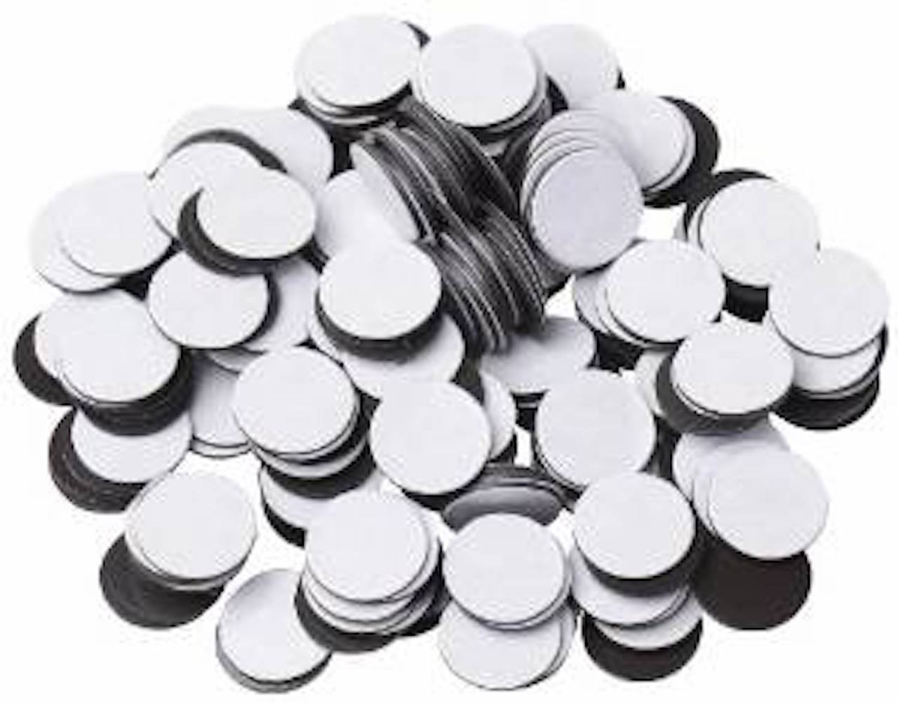 100 Round Self Adhesive Magnetic Circles .5 Diameter 4 mil Magnets Arts and Crafts School Magnet Dot Tape New Cute Self-adhesive Darice 4336847766