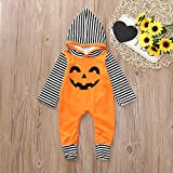FTXJ Toddler Infant Baby Girls Boys Hooded Romper Jumpsuit Halloween Costume Outfits