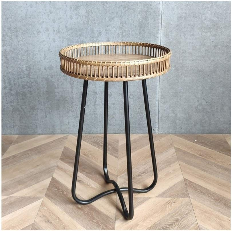 Beste Plaats Moderne Salontafel Leisure Rack Eenvoudige Koffietafel Slaapkamer Kleine Nachtkastje Round Salontafels Woonkamer 4.11 (Color : 39X62CM) 39X62CM 1P2fdCt