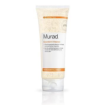 Murad Essential-C Daily Renew Complex Facial Moisturizer, 1 Fl Oz 4 Pack - EOS Lip Balm Sphere, Vanilla Bean 0.25 oz