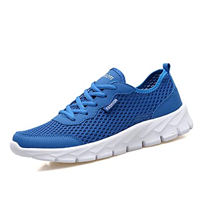 FOBEY Flat Mujer Hombre, Color Azul, Talla 36.5