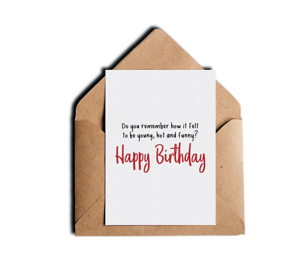 Amazon Sarcastic Humor Birthday Greeting Card Do You