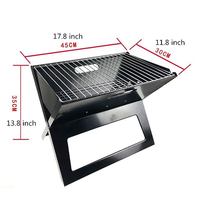 Amazon.com: DEPRQ Portable Charcoal Grill Barbecue Charcoal ...