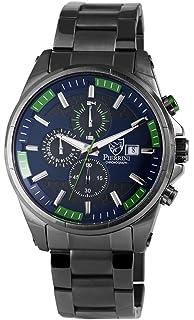 Armbanduhr 2910 Edelstahlband Pierrini Chronograph Quarz Herren 010 LMGqVzUSp
