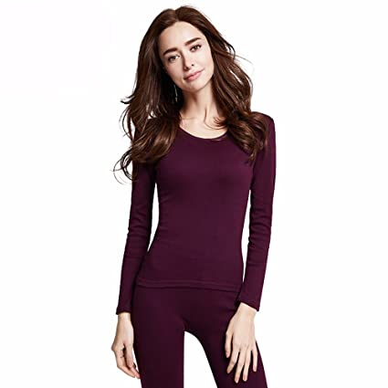 d80aac8714ce Image Unavailable. Image not available for. Color: LVLIDAN Thermal  Underwear winter feminine Cotton thin ...