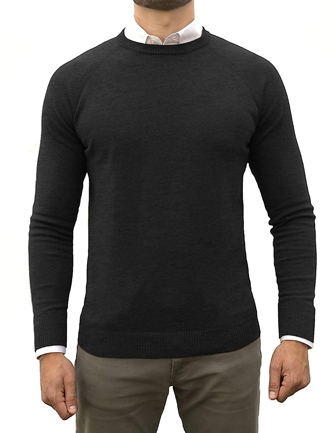 Comfortably Collared Mens Perfect Slim Fit Lightweight Soft Fitted