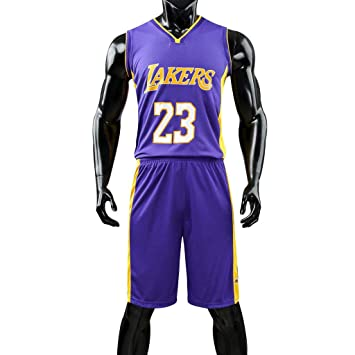 Los Angeles Lakers NBA Basketball Jersey Mangas Chaleco sin ...